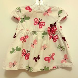 Gymboree Butterfly Dress 18-24 months
